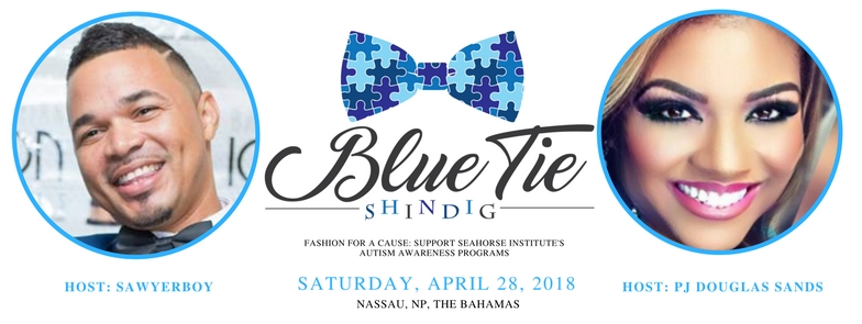 "Seahorse Institute's Blue Tie Shindig 2018 hosted by Timico ""SawyerBoy"" Sawyer and PJ Douglas Sands."