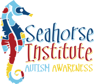 Seahorse Institute Autism Awareness Logo